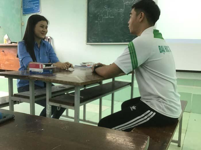 Thực hành phỏng vấn giữa các Sinh viên 2